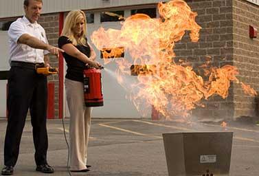 Clean Fire Extinguisher Training Classes, San Bernardino, Murrietta Ca