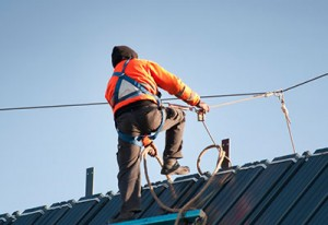 Body belt, harness inspection- comply with CAL/OSHA standards.