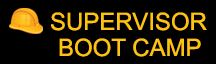Supervisor Training Boot Camp